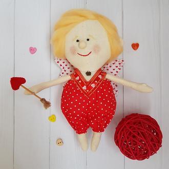 Кукла Тильда милый Амурчик