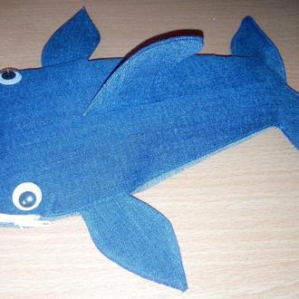 Пенал акула  КИТ