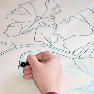 Подробный видео мастер-класс по батику, видео-мастер класс роспись по шелку