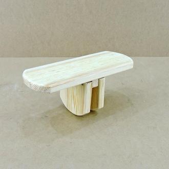 """Раскладная скамейка для йоги """"Мумбаи"""" бланже"""