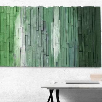 """Абстракция, панно на стену """"Бамбуковый лес"""""""