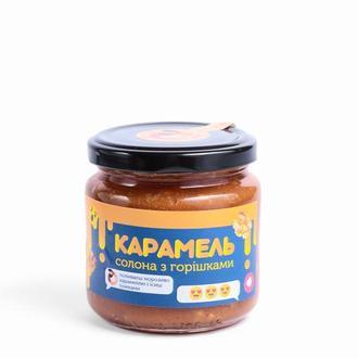 Классическая подсоленная карамель с грецкими орешками, 200мл