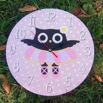 Настенные часы  Сова балерина