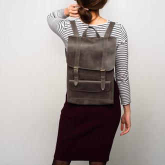 Рюкзак из кожи для повседневных прогулок или работы (арт.510)