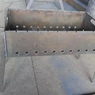 Мангал разборной (толщина металла 4мм)