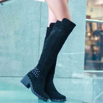Ботфорты зимние женские Aura Shoes 8250100