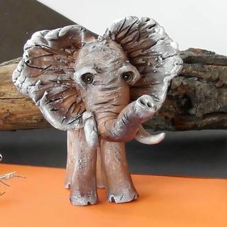 Слон статуетка інтер'єрний слоник на удачу