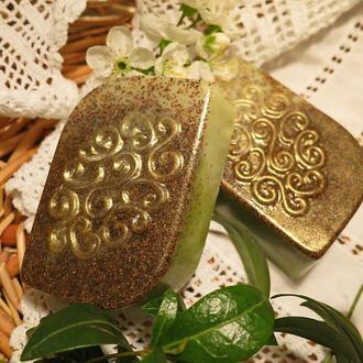Мыло-скраб с миндальной косточкой УЗОР