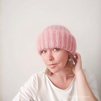 Шапка Такори (розовая)