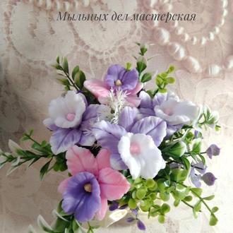 """Мыльный букет """"Орхидеи"""" №1"""