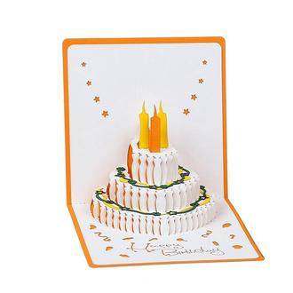 3d листівка Торт