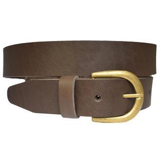 Slavia кожаный женский ремень коричневый кожанный пояс для джинсов пасок ремінь