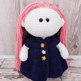 Плюшева Кнопочка. Плюшевая кукла.