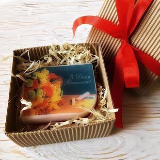 Подарок на День Учителя - мыло-открытка