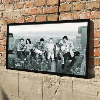 Постер / Картина на ПВХ «Друзья / Друзі» (Friends)