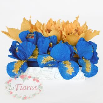 Флаг цветов с конфетами (арт. 027)