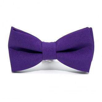 Фіолетовий матовий краватка метелик, Фиолетовая матовая галстук бабочка