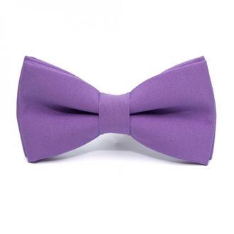 Бузковий матовий краватка метелик, Сиреневая матовая галстук бабочка