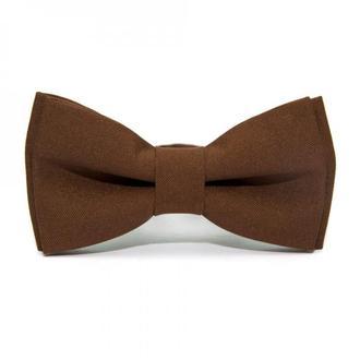 Коричневий матовий краватка метелик, Коричневая матовая галстук бабочка