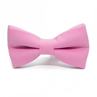 Розжевий матовий краватка метелик, Розовая матовая галстук бабочка