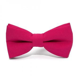 Матовый галстук бабочка фуксия, Матовая галстук бабочка фуксия