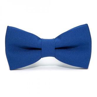 Матовий краватка метелик синій електрик, Матовая галстук бабочка синий електрик