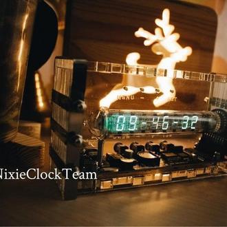 Уникальные ламповые часы