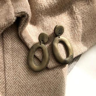Сережки кольца, серёжки, серьги, сережки колечка