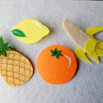Нашивки фрукты