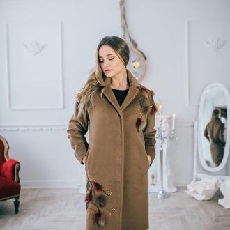 Пальто ручного пошива