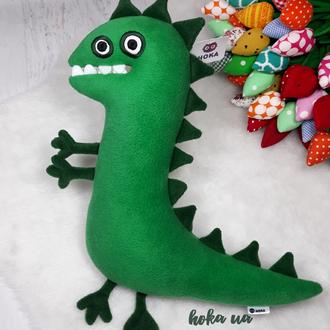 Мягкая игрушка - подушка Мистер динозавр, свинка Пеппа