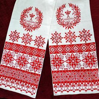Весільний вишитий рушник, свадебный рушник