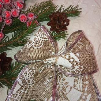 Бант / новорічна прикраса