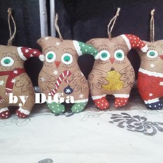 Ароматные игрушки совы ручной работы