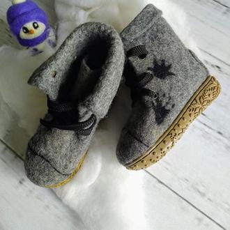 Валенки-ботинки детские