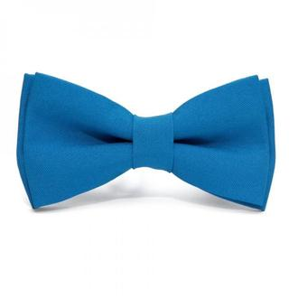 Блакитний матовий краватка метелик, Голубая матовая галстук бабочка