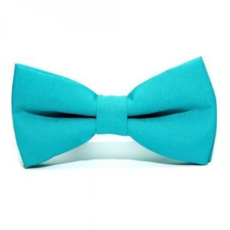 Бірюзовий матовий краватка метелик, Бирюзовая матовая галстук бабочка