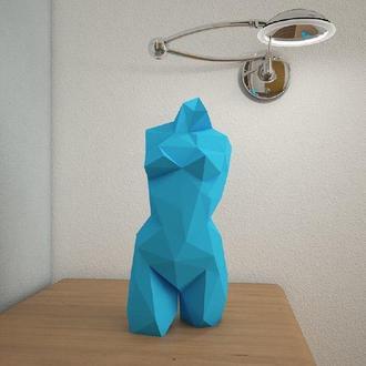 Наборы для создания 3д фигур Оригами Паперкрафт Бумажная модель Papercraft Статуя