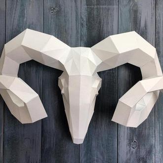 Наборы для создания 3д фигур Оригами Паперкрафт Бумажная модель Papercraft Бивень