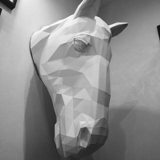 Наборы для создания 3д фигур Оригами Паперкрафт Бумажная модель Papercraft Конь
