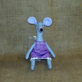 Декоративная мышь-крыса - интерьерная игрушка тильда