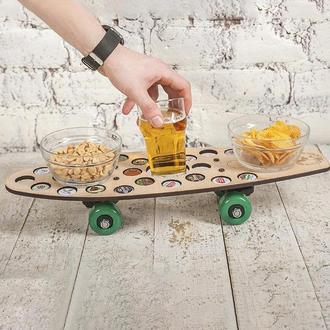 Поднос - столик для закусок CAPS DRIVE
