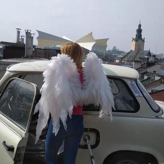 Крылья белого ангела.