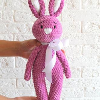 Плюшевая зайка плюшевая игрушка подарок ребёнку