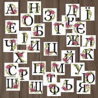 Стикеры Буквы, Наклейки
