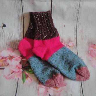 Зимние шерстяные носки 35-36 размер (23см)