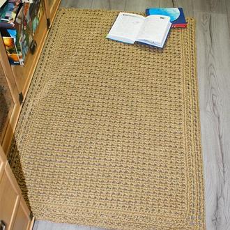 Коврик, Коврик из джута, Циновка прямоугольная (125х78см)