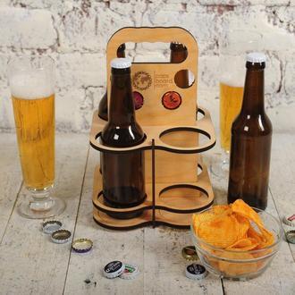Ящик - переноска для пива CAPS BOХ 4 yellow