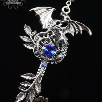 Страж: сердце водопада - кулон ключ в стиле фэнтези (в наличии 1 шт.)