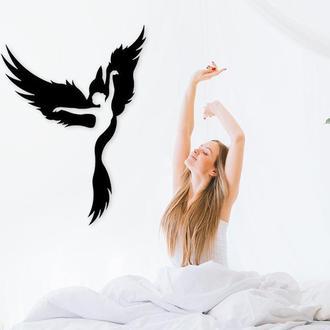 Деревянная картина Fly